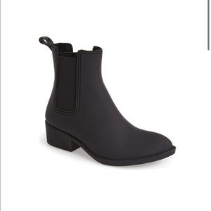 JEFFREY CAMPBELL Stormy Rain Chelsea Boots black
